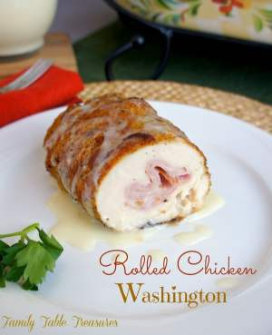 Rolled Chicken Washington