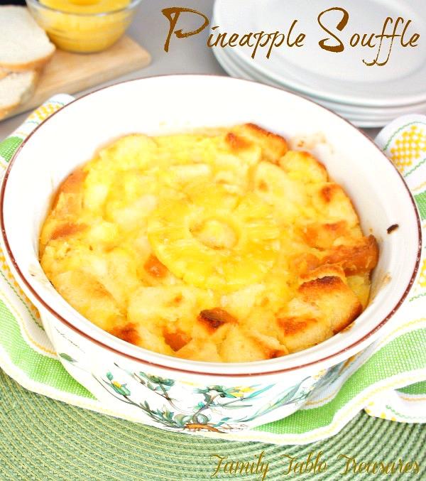 Pineapple Souffle