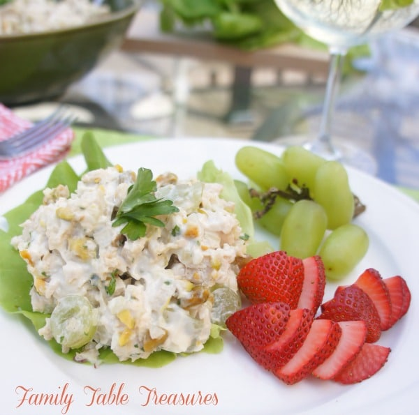 Chicken Salad {Veronique}