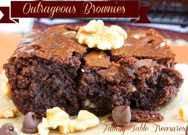 Outrageous Brownies