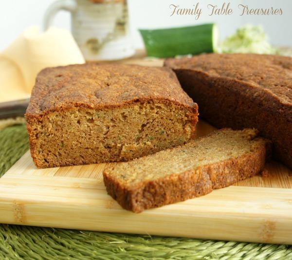 {Secret Ingredient} Zucchini Bread