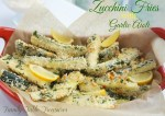 Baked Zucchini Fries {with garlic aioli}