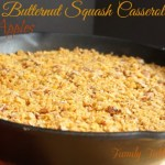 {Skillet} Butternut Squash Casserole {with Apples}