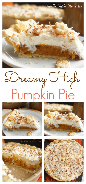 {Dreamy High} Pumpkin Pie