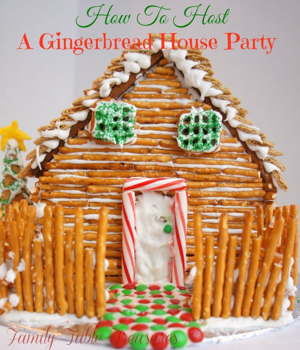 How To Host A {Gingerbread House Party} {Part II}