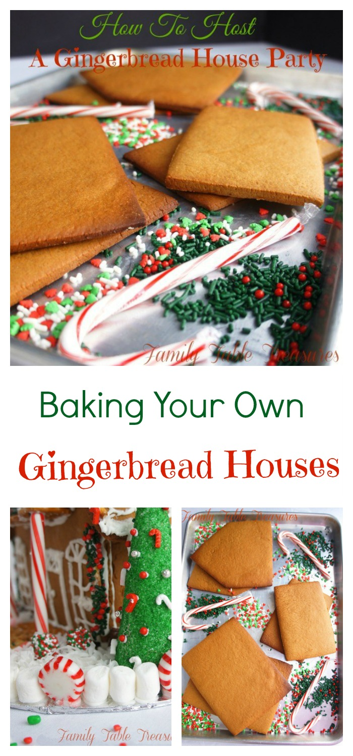 How to Host a Gingerbread House Party Part I