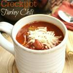 Crockpot Turkey Chili