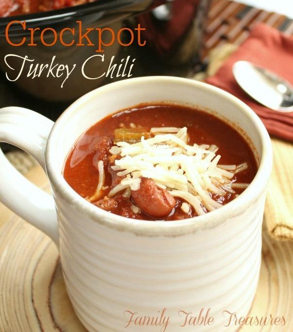 Crockpot Turkey Chili