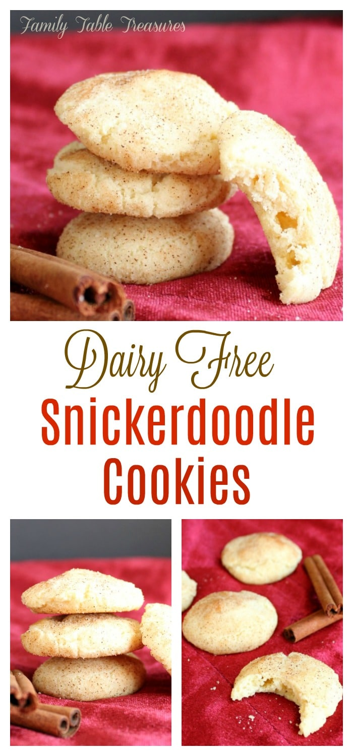 Snickerdoodle Cookies with Coconut Oil