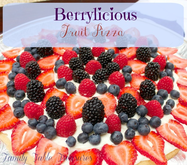 Berrylicious {Fruit Pizza}