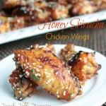 Honey Sriracha Chicken Wings
