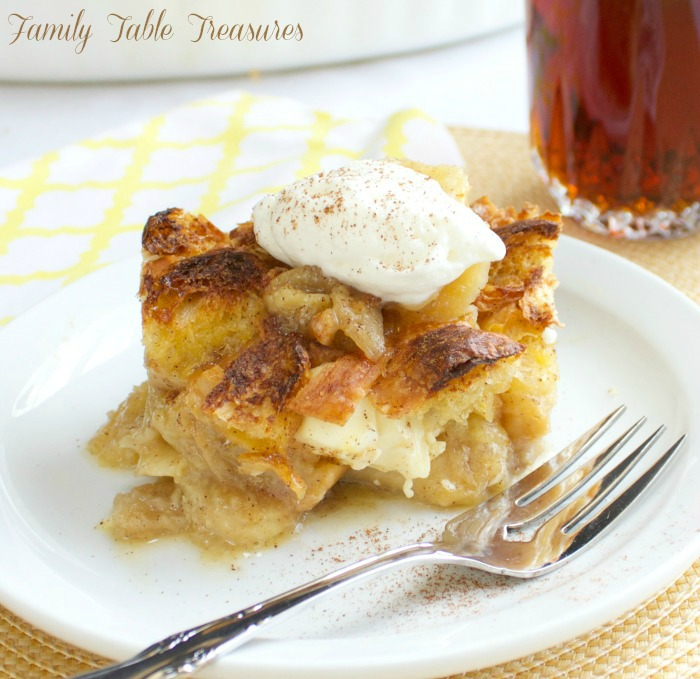 Overnight Bananas Foster French Toast Casserole