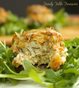 Boursin Cheese & Crab Stuffed Mushrooms