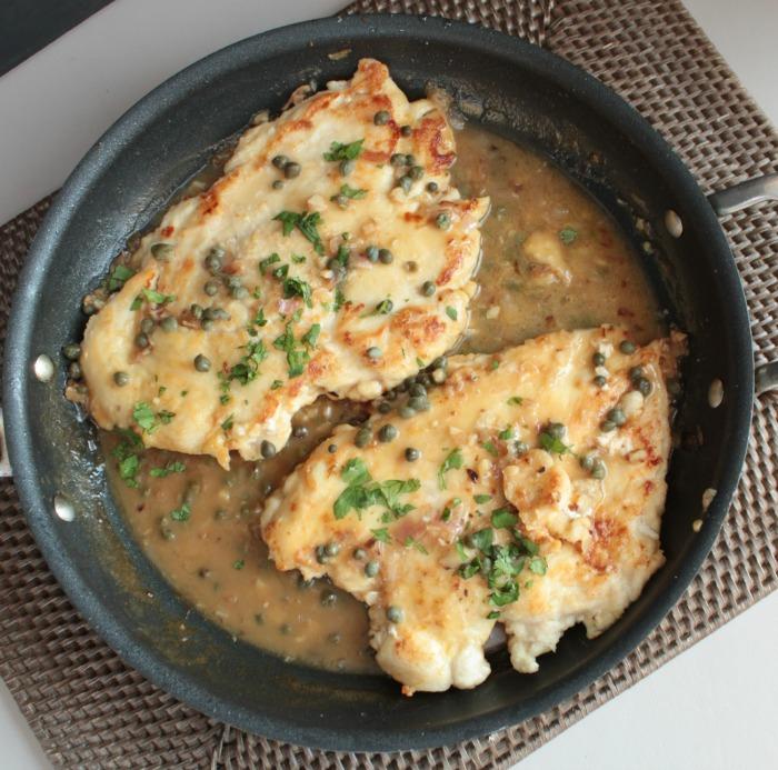 Easy Chicken Piccata