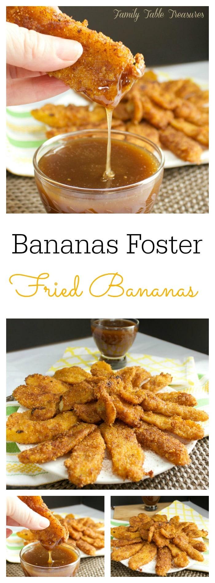 {Bananas Foster} Fried Bananas