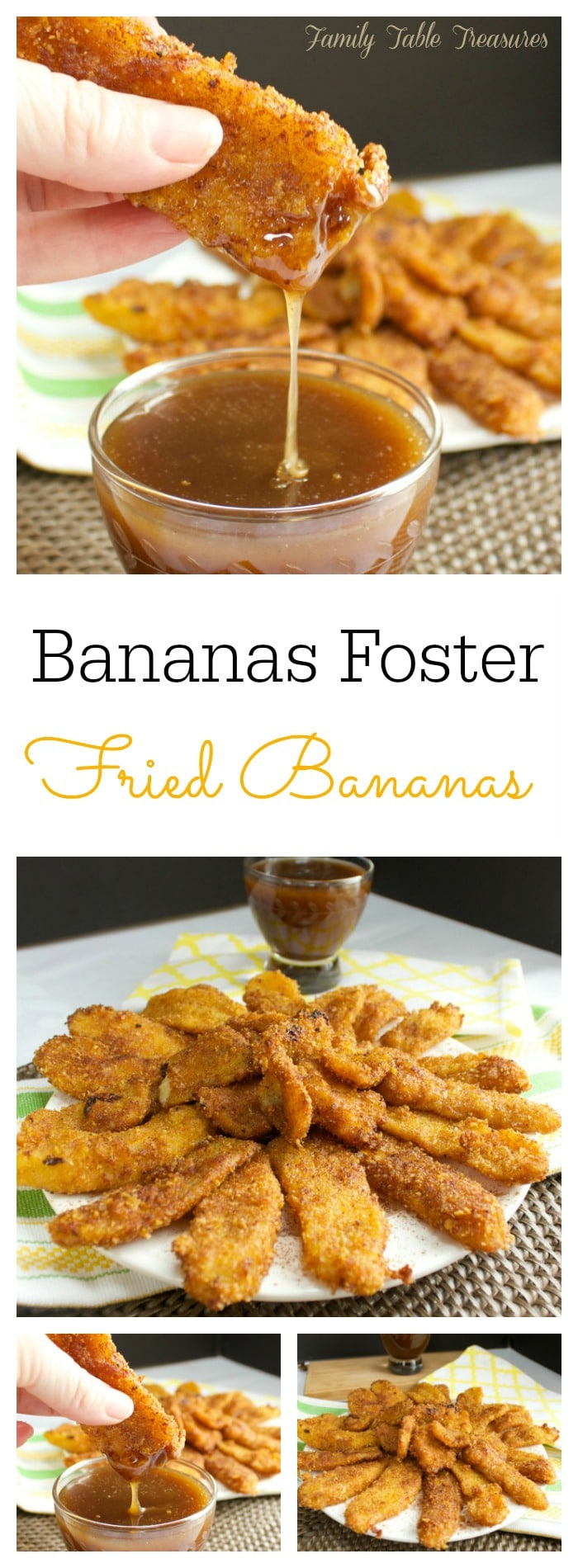 {Bananas Foster} Fried Bananas