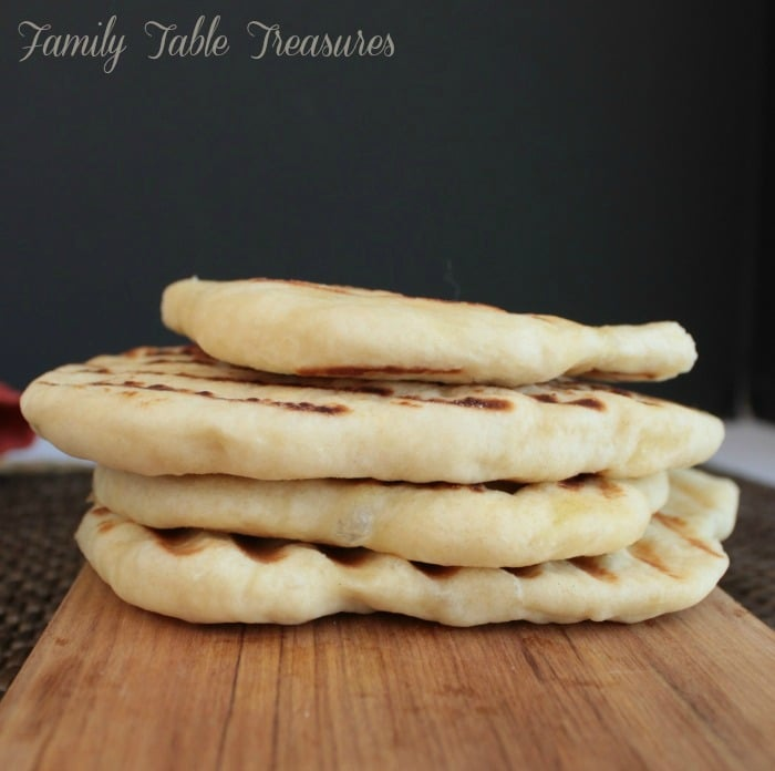 Homemade Naan Bread