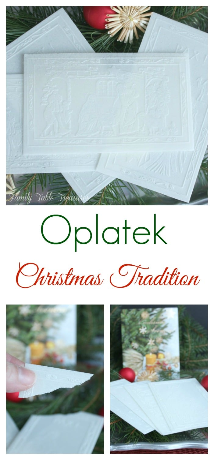 Oplatek Christmas Tradition