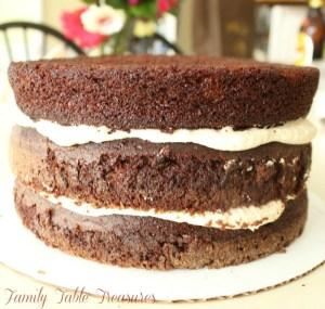 Raspberry Chocolate Cake