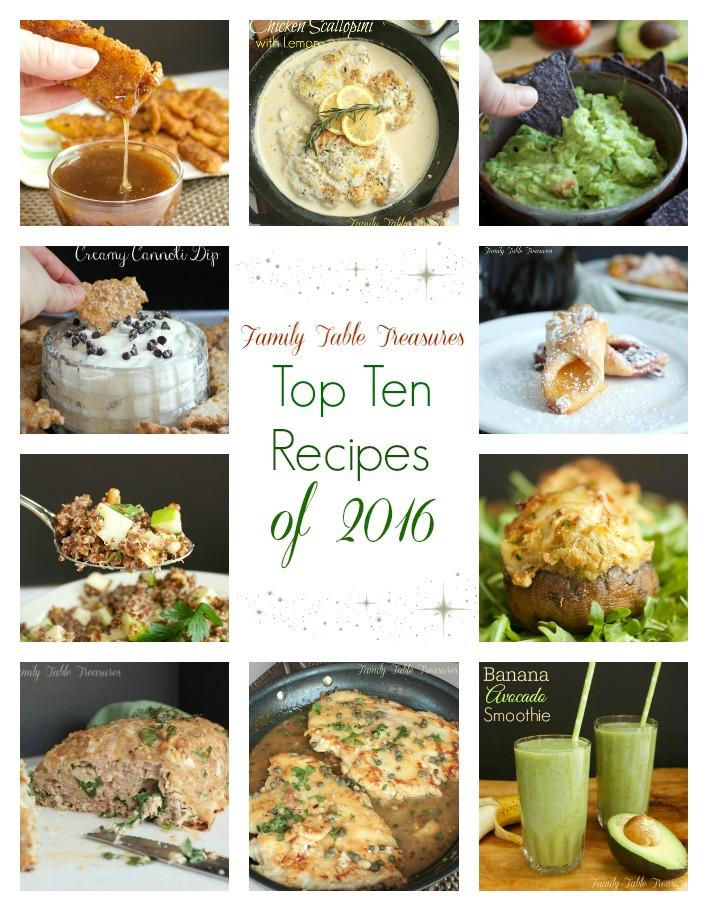 The Top Ten Recipes of 2016