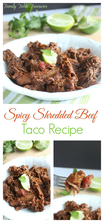 Spicy Shredded Beef Recipe