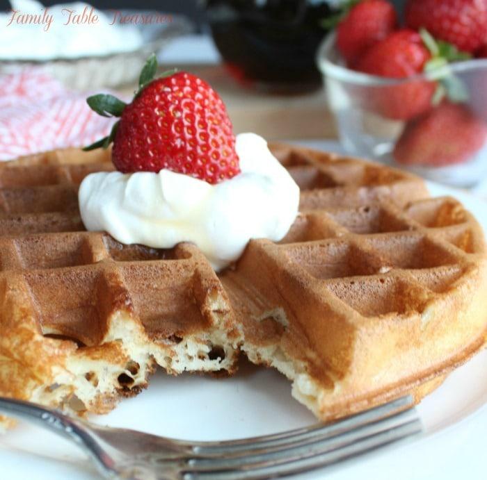 Best Belgian Waffle Recipe