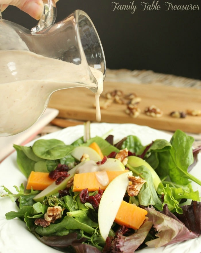 Maple Walnut Vinaigrette Recipe