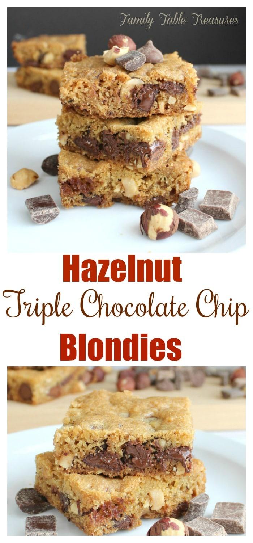 Chocolate Chip Blondies