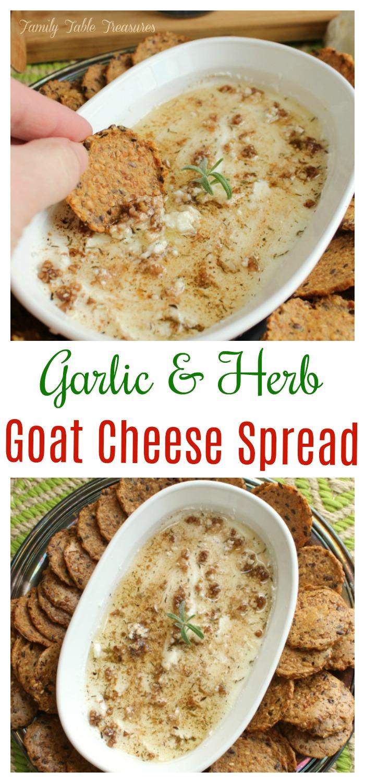 Goat Cheese Spread Recipe