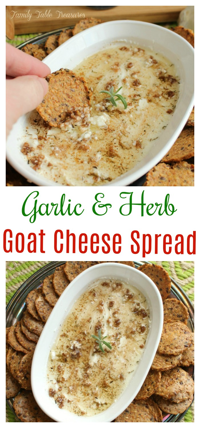 Goat Cheese Spread Recipe