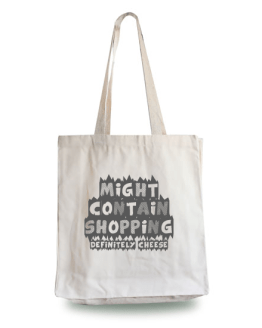 Might Contain Cheese Tote Bag