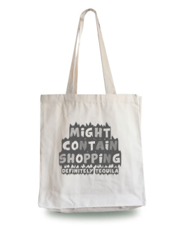 Might Contain Tequila Tote Bag