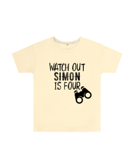 Watch Out Birthday T Shirt