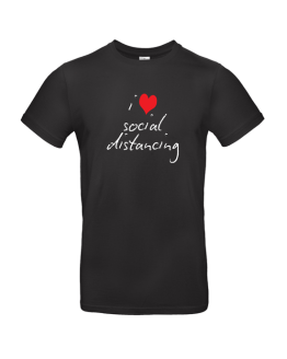 I Heart Social Distancing T Shirt