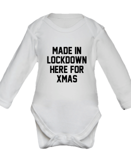 Lockdown Christmas Baby Grow
