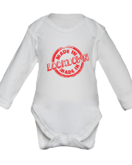 Made In Lockdown Babygrow