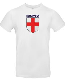 England Euro 2020 Flag Badge T Shirt