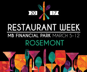 MB Financial Park's Restaurant Week 2017