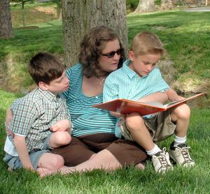 Reading with my boys(1)