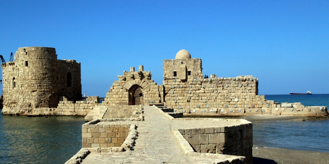 Sidon Sea castle Lebanon | Destinations in the Middle East