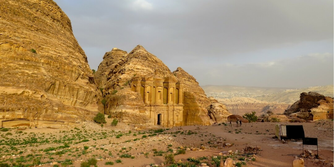 The Monastery Petra Jordan | Middle East Family Travel Destinations