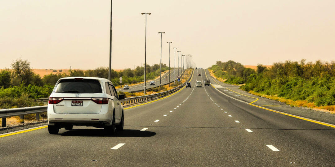 Driving in the UAE
