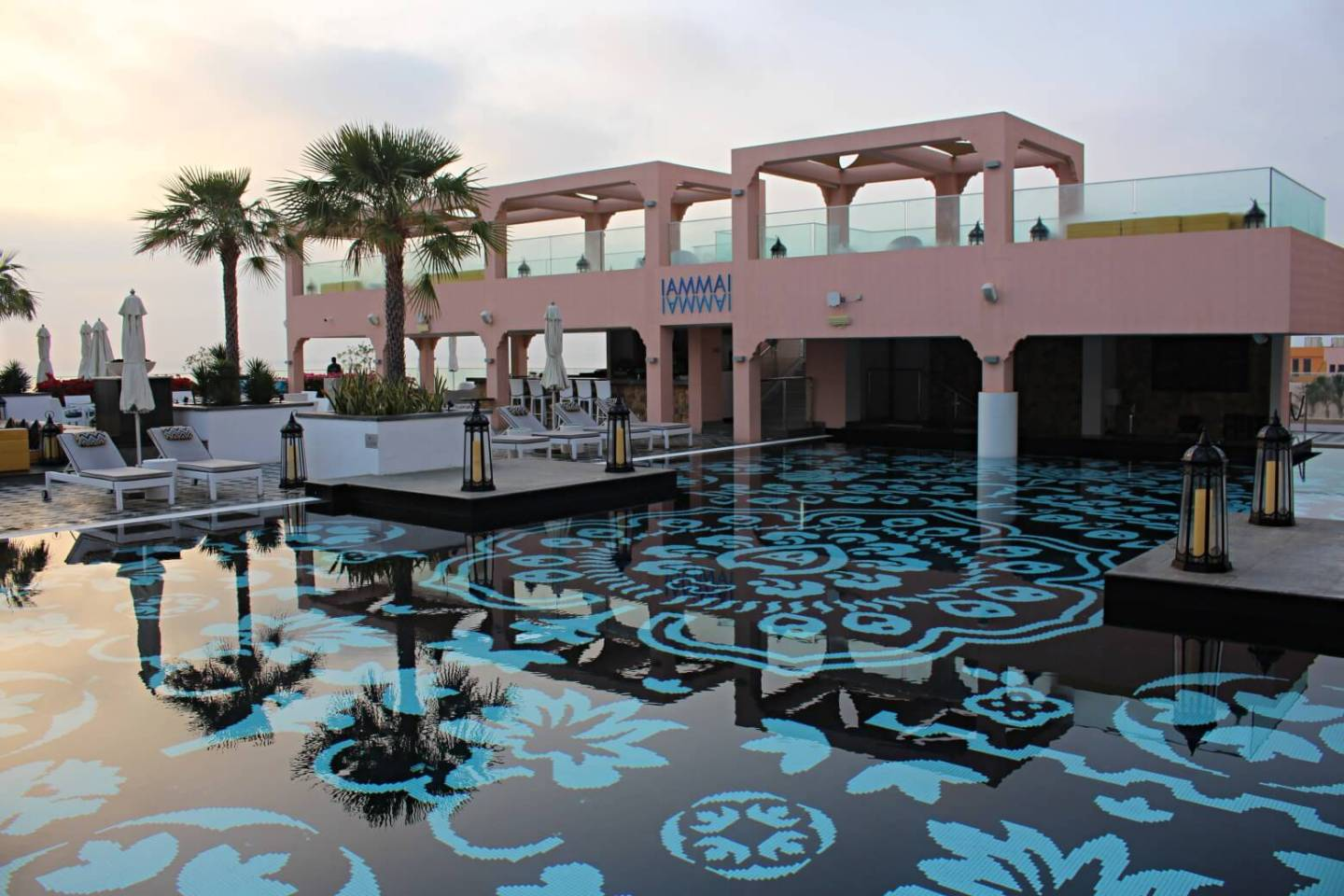 Iammai pool at Fairmont Fujairah. Image Credit: David Tapley