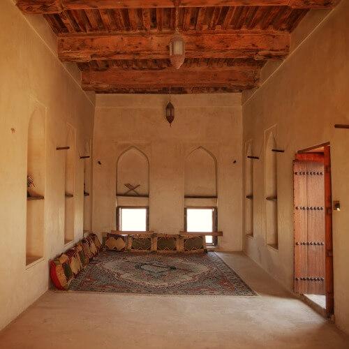 Inside Jibreen Castle