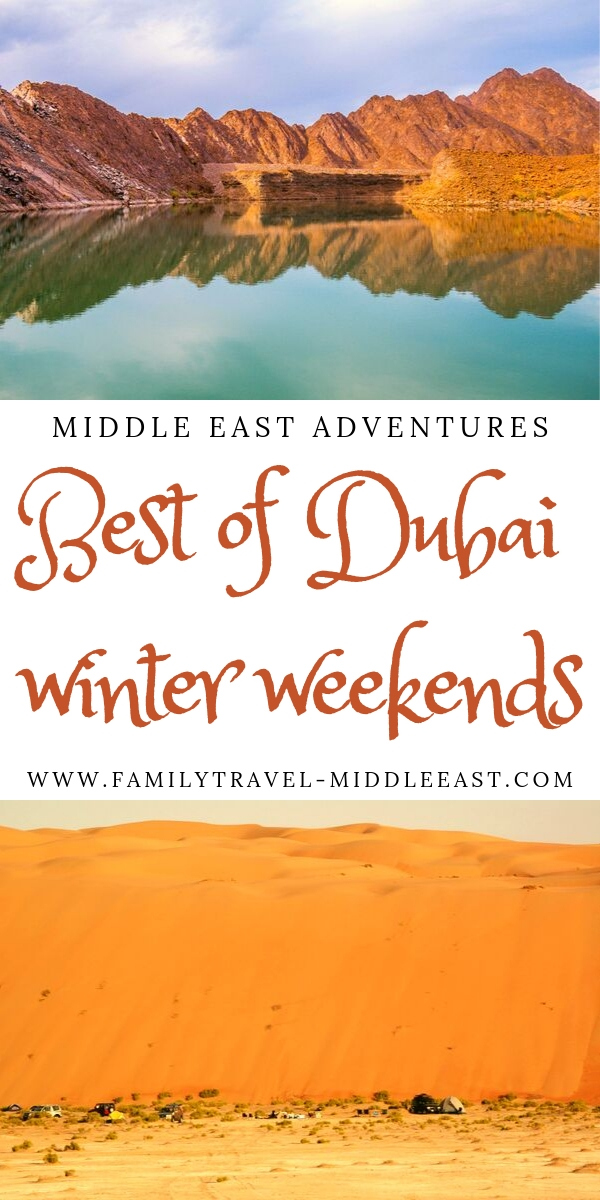 Best way to spend your wintere weekends in Dubai and the UAE