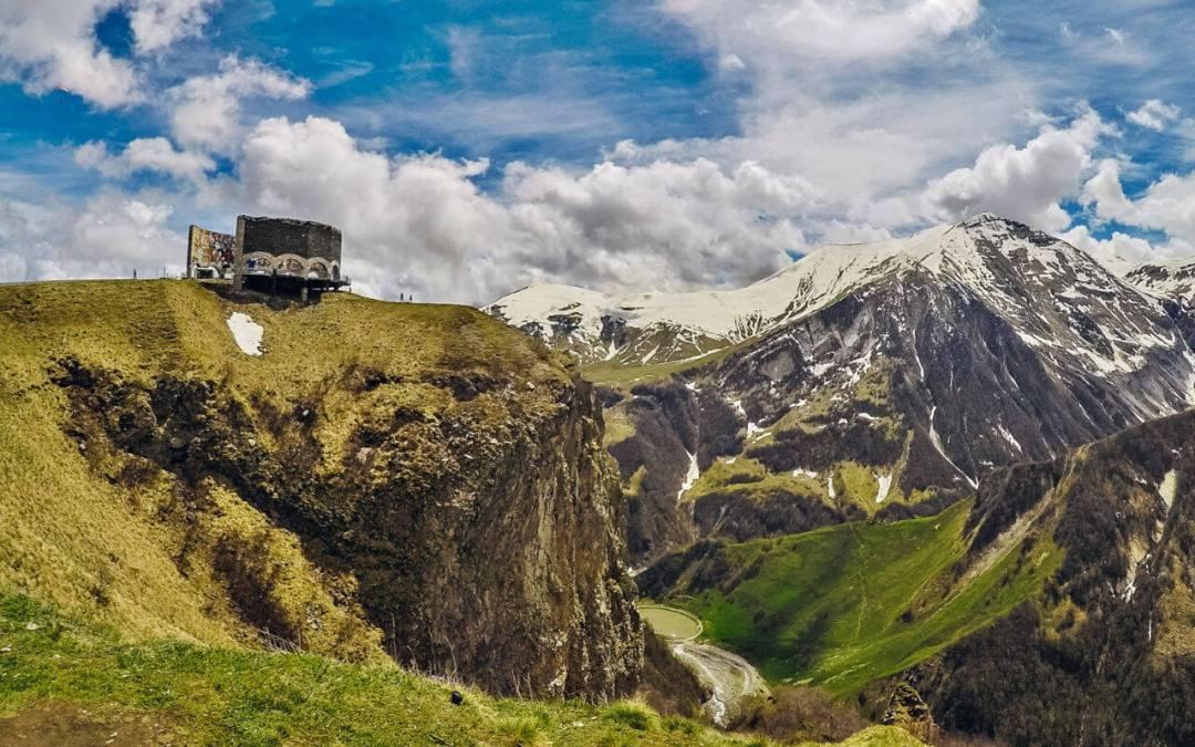 The Mountainous Gudauri, Georgia: Image Credit Ed Suyo