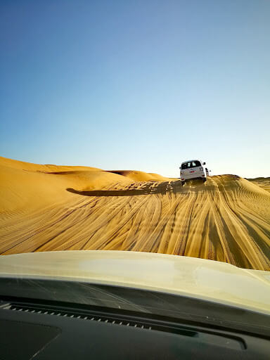 4wd adventure at Wahiba Sands