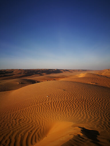 Wahiba Sands in Oman - one of the most beatuiful deserts in the world