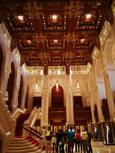 Royal Grand Opera House interior, Muscat Oman
