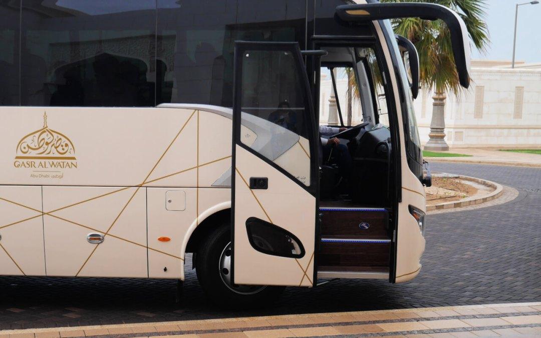 Qasr Al Watan Transit bus to the Palace